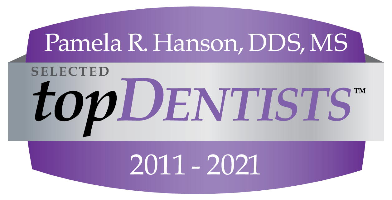 Pamela R. Hanson, DDS, MS Selected topDentists 2011-2020