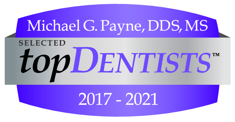 Michael G. Payne, DDS, MS Selected topDentists 2017-2020